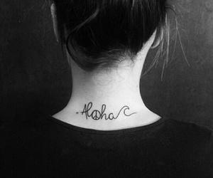 tattoo and Aloha image