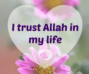 allah, islam, and trust image