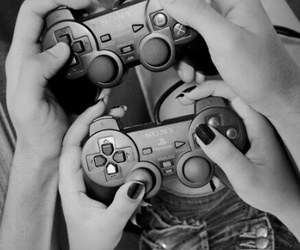 boy, game, and love image