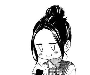 manga, hirunaka no ryuusei, and cute image