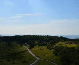 Hiddensee, lighthouse, and nature image