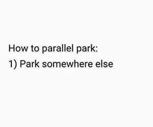 cars, parallel, and park image