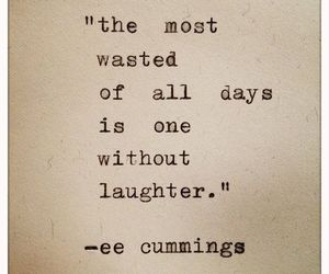 quote, laugh, and life image