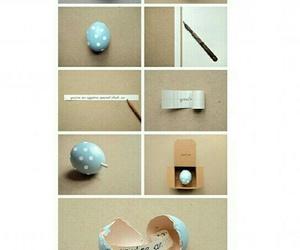 egg, diy, and gift image