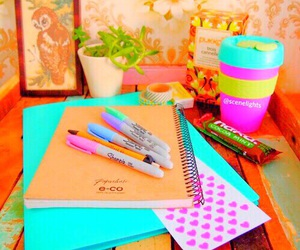 school, study, and inspiration image