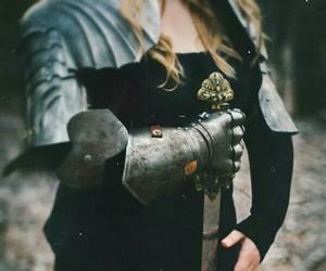 sword, warrior, and fantasy image