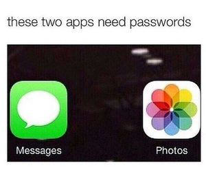 funny, password, and messages image
