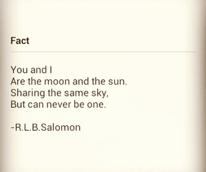 love quotes, words, and moon image