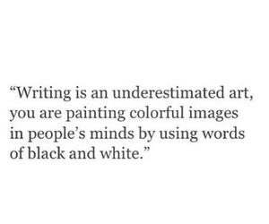 quote, art, and writing image