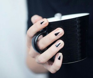 beauty, hands, and cup image