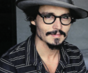 johnny depp and glasses image