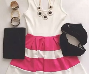 dress, moda, and swag image
