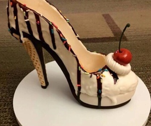 food, shoes, and sweet image