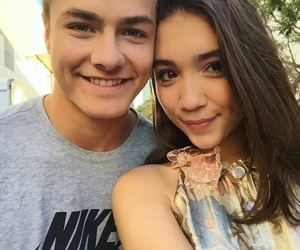 rowan blanchard and peyton meyer image