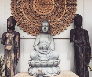 Buddha, peace, and buda image