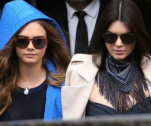 cara delevingne, kendall jenner, and beauty image