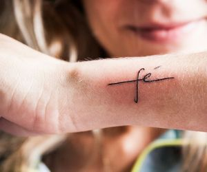 tattoo, faith, and fe image