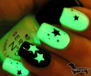 nails, stars, and green image