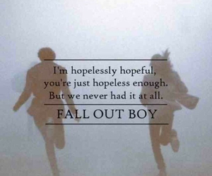 fall out boy, Lyrics, and quote image