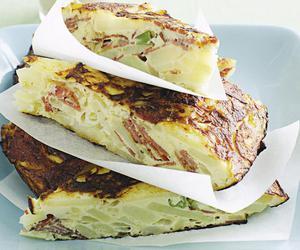 eggs, spanish, and pastrami image
