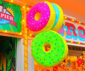 donuts, tumblr, and summer image