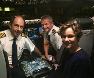 peter pan, levi miller, and panmovie image