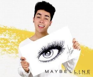 eye, guapo, and Maybelline image