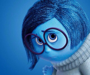 inside out, blue, and disney image