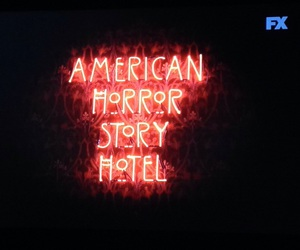 hotel, ahs, and american image