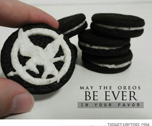 oreo, hunger games, and food image