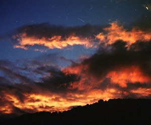 sky, love, and clouds image