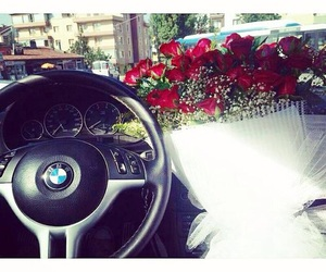 bmw and rose image