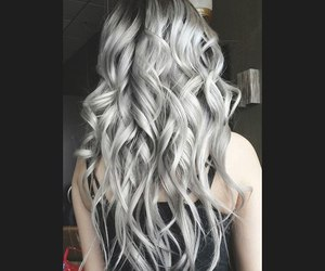 girl, hair, and girl hair image
