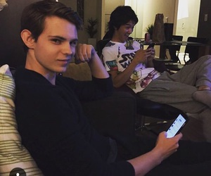 robbie kay, handsome, and smirk image