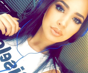 jasmine villegas, beautiful, and selfie image