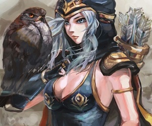 league of legends, ashe, and lol image