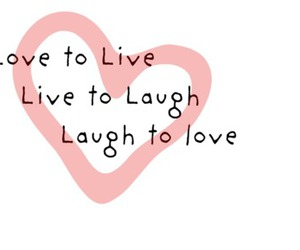 feel good, laugh, and live image
