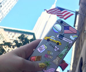 case, iphone, and nyc image