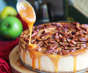 apple, cake, and sweets image