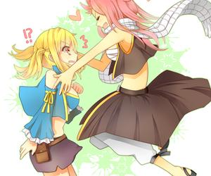 fairy tail, anime, and nalu image