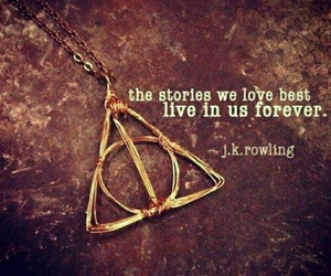 harry potter, jk rowling, and quotes image