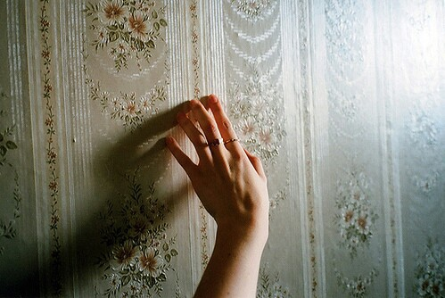 hand and vintage image