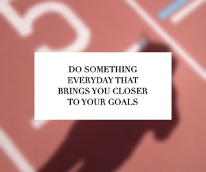 be strong, blurred, and goals image
