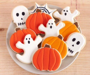 cookie, food, and ghost image