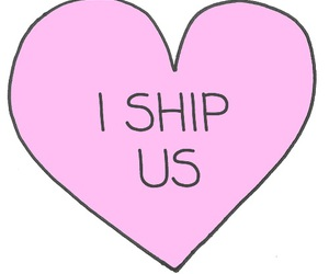 ship, heart, and us image