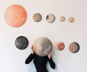 planet, moon, and tumblr image