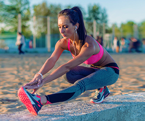 morning workouts and stretching exercises image