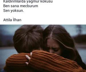turkce, atilla ilhan, and sözler image