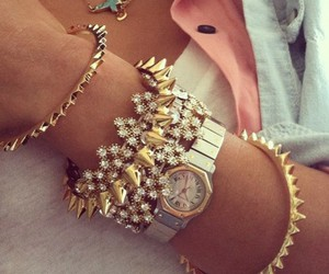 fashion, bracelet, and watch image