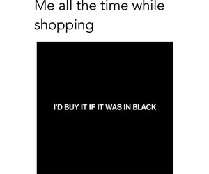 black and shopping image